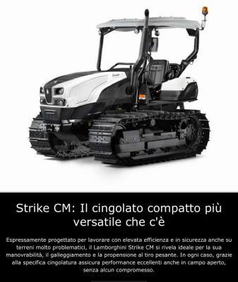 Lamborghini Strike CM_ il cingolato compatto più versatile che c'è.-2